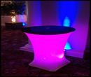 Cocktail LED Table Hire