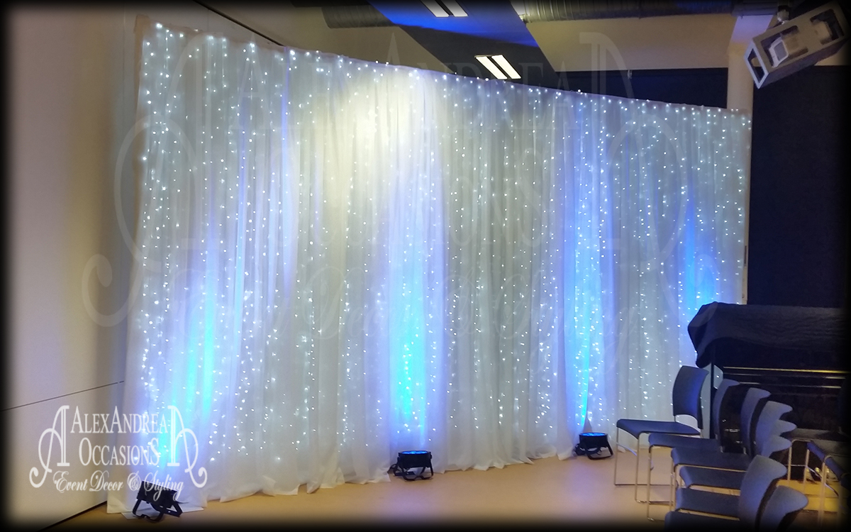 Wedding Event Backdrop Hire