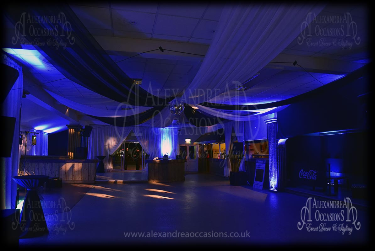 Wedding Event Ceiling Drapes London Hertfordshire Essex Bedfordshire