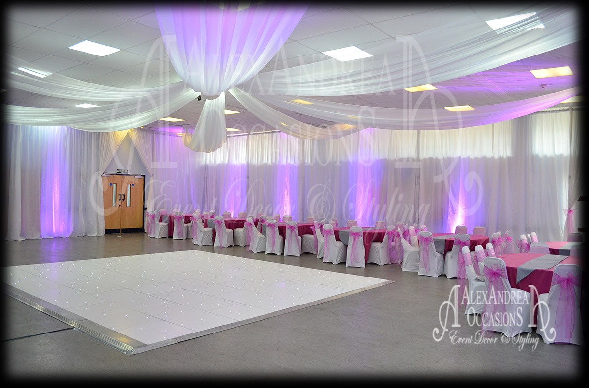 Wedding Event Ceiling Drapes London Hertfordshire Essex