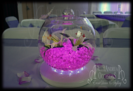 Fishbowl Centrepiece Hire London