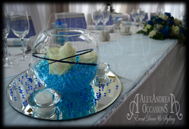 Wedding Table Centrepiece Hire Bedfordshire