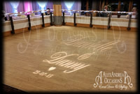 Image Projection for weddings Hertfordshire