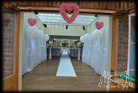 Wedding Partition Drapes Essex Orsett Hall