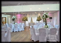 Wedding Decorations Wall Drapes Orsett Hall - Essex