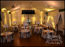 Waltham Abbey Town Hall Wedding Decorations