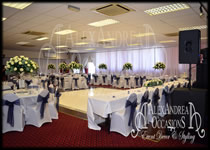 Wedding Decorations Wall Drapes The Mill House - Essex