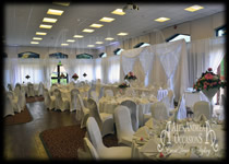 Wedding Full Room Wall Drapery - London